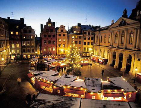Праздничная Швеция