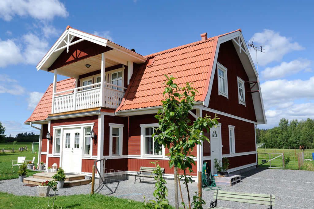 Типичный шведский домик
