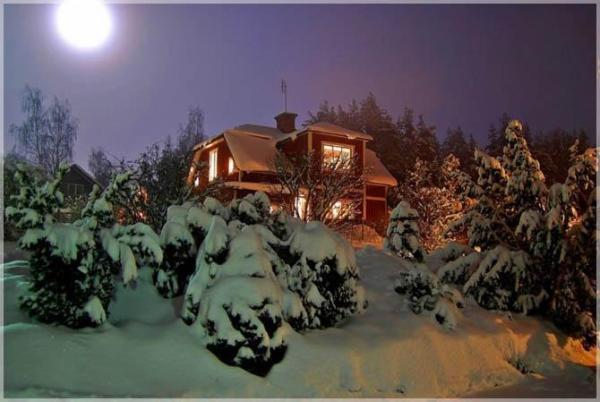 Швеция зимой фото