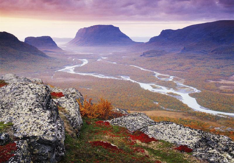 Фото северной Швеции