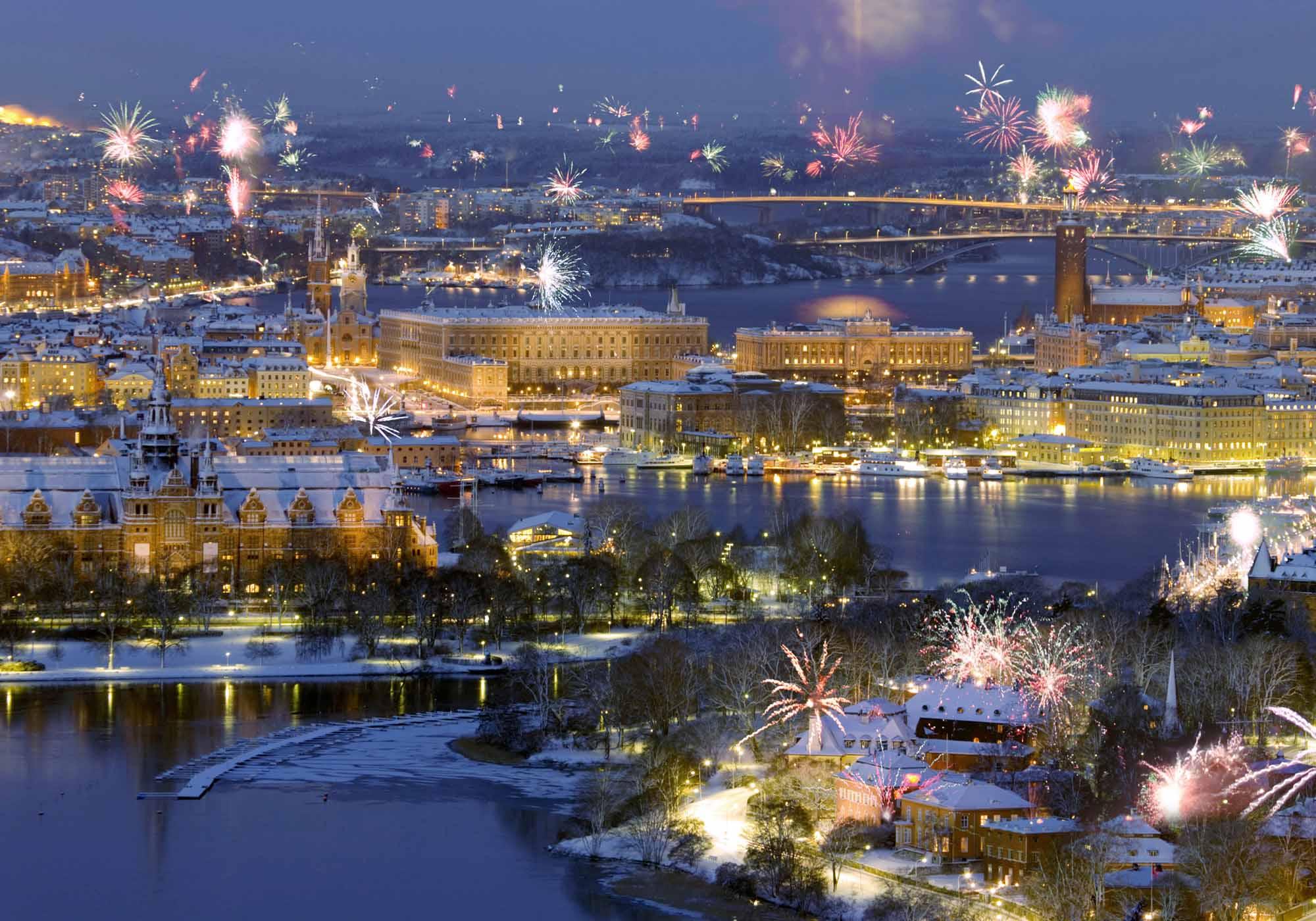 Новый год в Стокгольме
