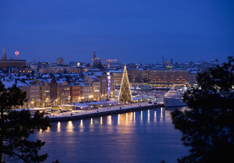 Рождество в Швеции