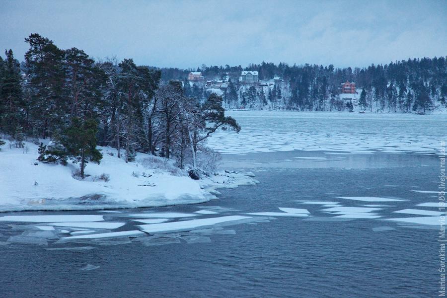 Островки в море и лед