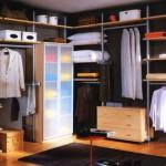Шведские гардеробные системы — простая функциональность