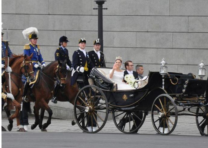 Свадебная церемония в Швеции