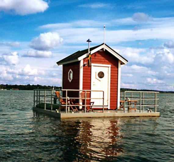 Типичный домик в Швеции