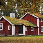 Традиционный шведский дом