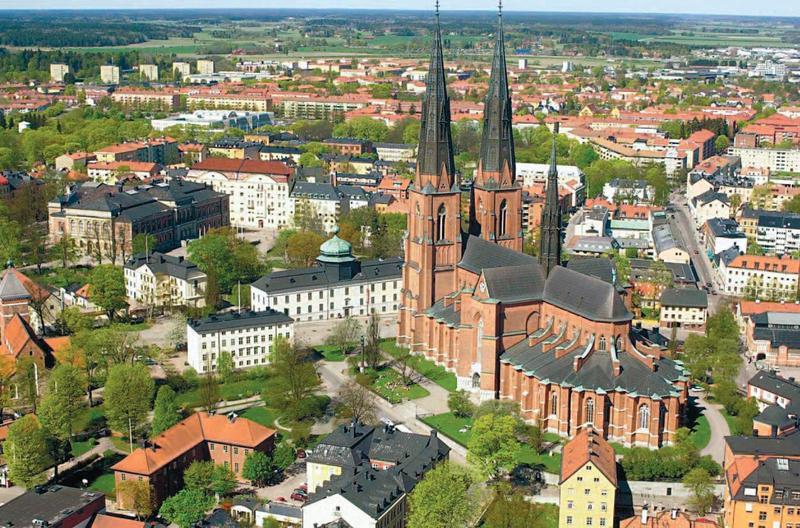 Город Упсала, Швеция