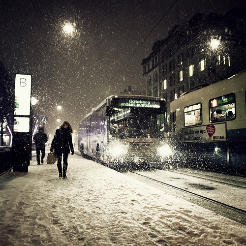 Зима в Гетеборге