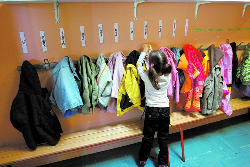 Детский сад в Швеции