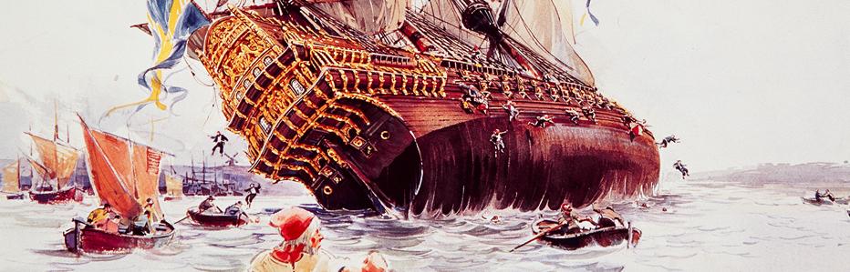 Как тонул корабль Васа