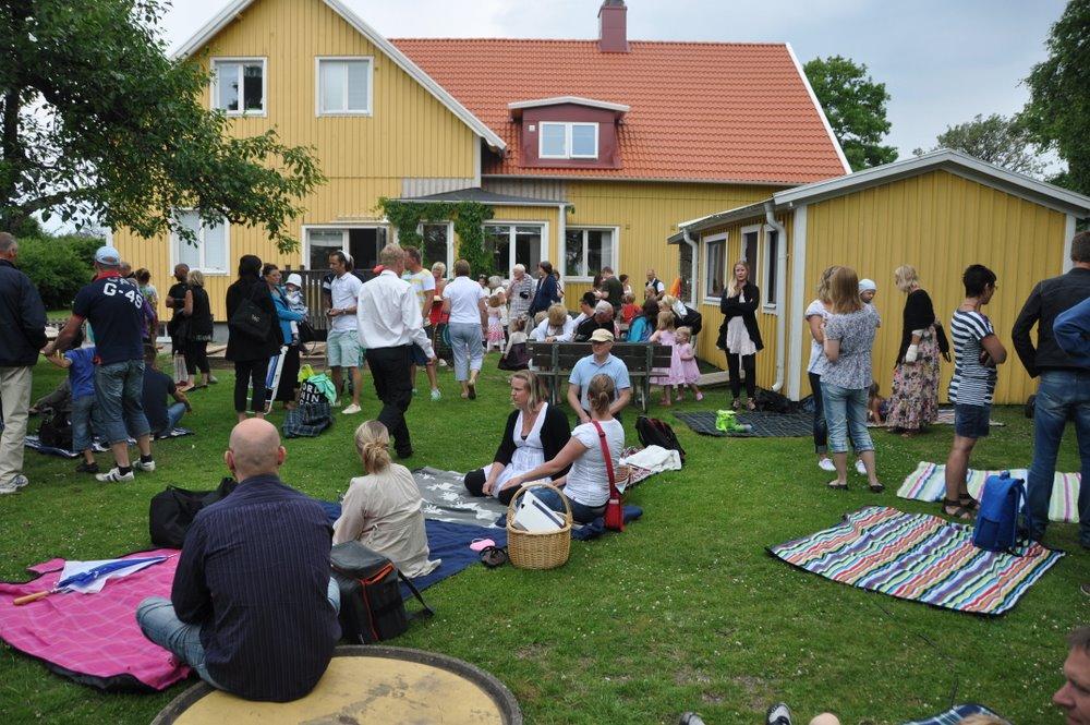 Праздничный день в шведском детском саде