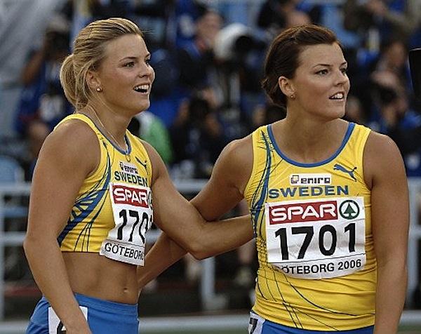 шведские женщины спортсменки