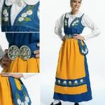Шведский национальный костюм