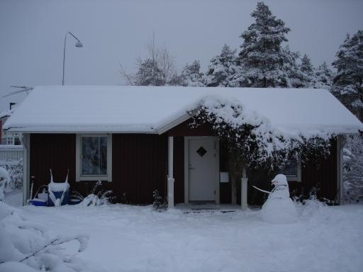 теплый пол в загородном доме Швеция