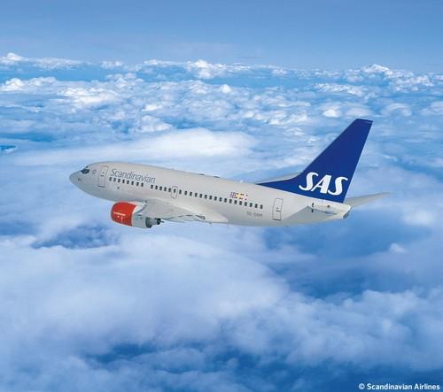 шведская авиакомпания SAS