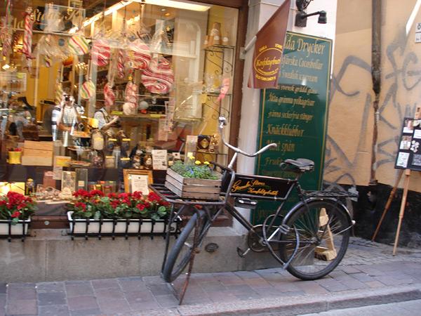 Велосипед в Стокгольме