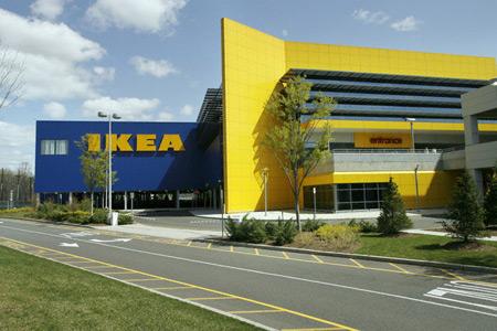 Здание IKEA
