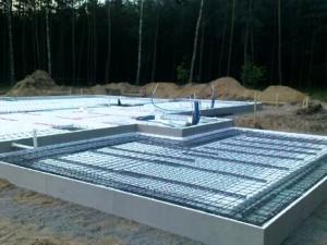 Фундамент утепленная шведская плита