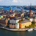 Главный вид на Стокгольм