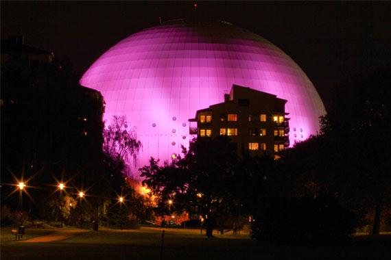 Globe Arena Стокгольм Швеция