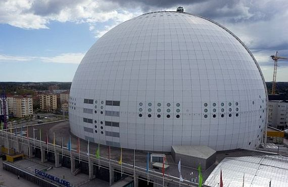 Globe Arena в Швеции