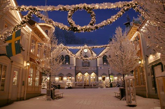 Новый год в Швеции фото