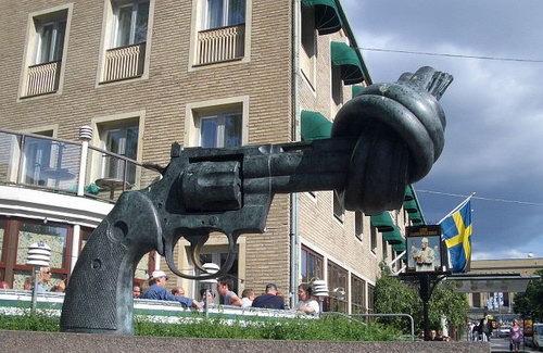 Против войны. Фото из швеции