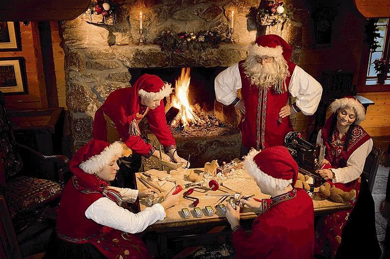 Помощники Санта Клауса