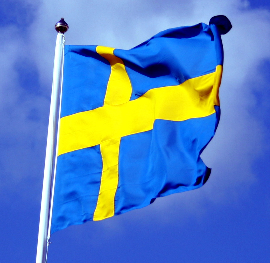 Флаг швеции фото