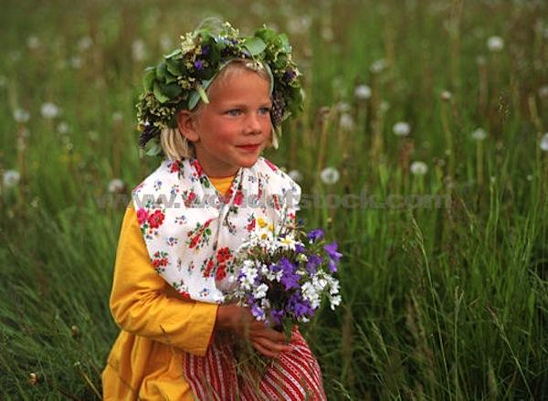 Красивая шведская девочка