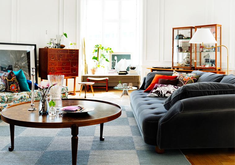Шведская мебель в интерьере