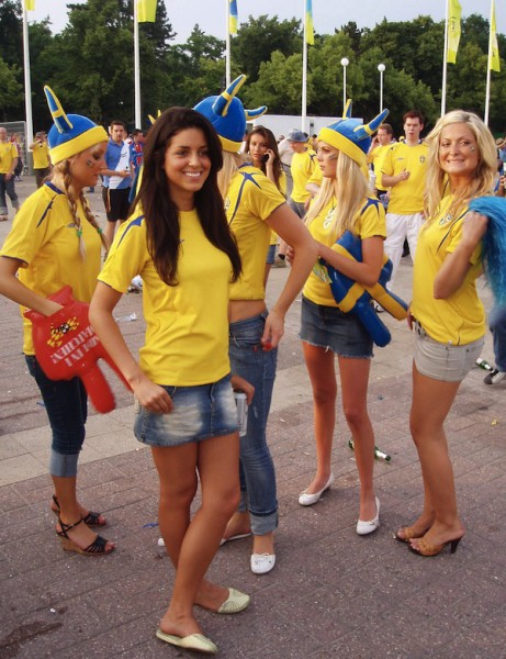 Шведские девушки