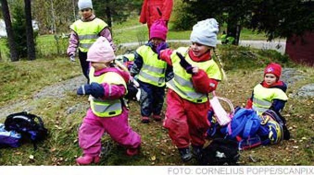 В детском саду в Швеции