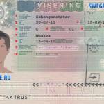 Как сделать визу в Швецию