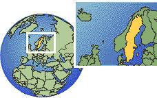 Время в Швеции: разница или сколько времени сейчас